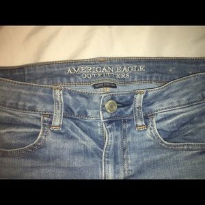 american eagle outfitters light wash jeggings